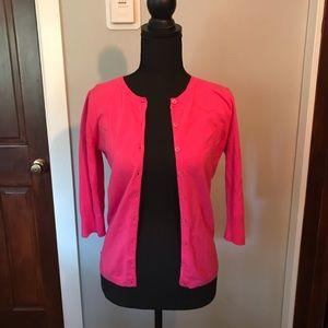 Nordstrom bp Cute Pink 3/4 Length Cardigan (M) 💕